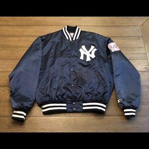 Vintage Starter NY Yankees Satin Dugout Jacket